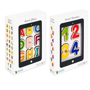 MARBOTIC SMART NUMBERS & LETTERS INTERACTIVE WOODEN BLOCKS