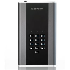 ISTORAGE diskAshur DT2 256-bit 10TB - Classified - Graphite