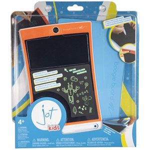 Boogie Board Jot 8.5 Kids, Geometric Orange
