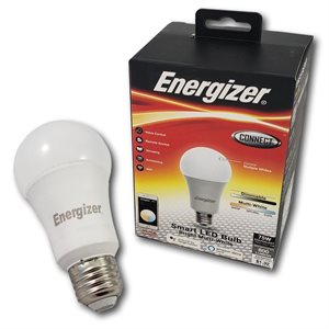 Energizer A19 Smart Bright Multi White LED Bulb *Multi-White* ENG ONLY
