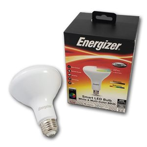 Energizer BR30 Smart Bright RGB + White LED Flood Light Bulb *RGBW* ENG ONLY
