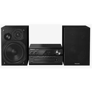 Panasonic Compact Audio System SC-PMX80K Micro Music System with Bluetooth CD, USB