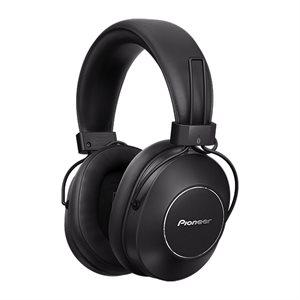 PIONEER SEMS9BNB OVER EAR BLUETOOTH HEADPHONE   BLACK/BLACK