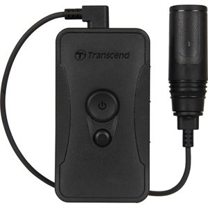 TRANSCEND 64GB, Body Camera, DrivePro Body 60, Cylindrical Camera (ENG ONLY)
