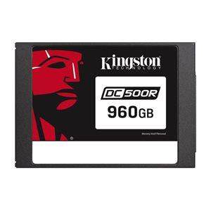 Disque Kingston Data Center DC500R Enterprise SSD 960GO (Read-Centric) 2.5po SATA Rev. 3.0 (6Gb/s)