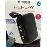XTREME REPLAY Bluetooth Square Speaker - Black