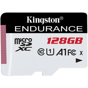 Kingston 128GB microSDXC Endurance 95R/45W C10 A1 UHS-I Canada Retail