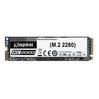 Kingston SSD 500GO KC2000 M.2 2280 NVMe PCIe gen3.0 x4