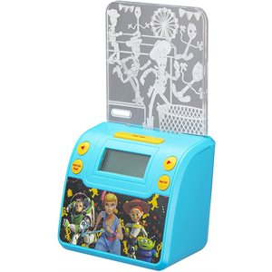 EKIDS DISNEY Toy Story 4 Nightlight Alarm Clock with USB Charging