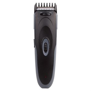 Barbasol Hair/Beard Trimmer, 8 Built in Settings, Rechargeable Runs 45 Min Black/Blue