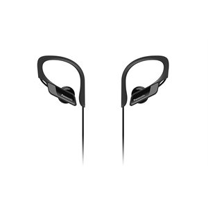 PANASONIC HEADPHONE BLUETOOTH EP SPORT RPBTS10K BLACK