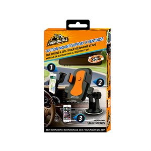 ARMORALL Universal Suction Phone/GPS Mount