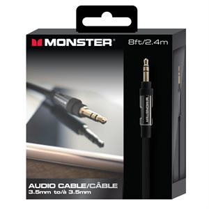 MONSTER Platinum 3.5 mm audio cable - 8 ft.