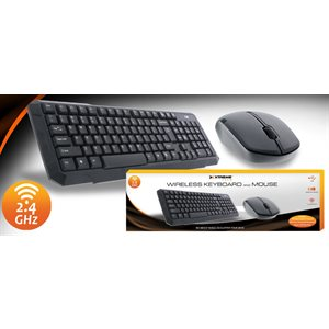 XTREME WIRELESS KEYBOARD AND MOUSE