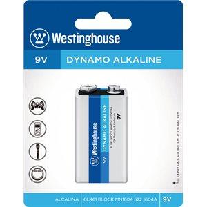 Batterie Westinghouse de 9V Dynamo Alkaline