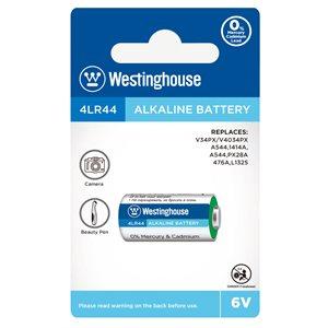 Batterie Westinghouse 4LR44 6V alkaine