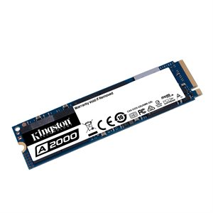 Disque SSD Kingston 1000GO M.2 A2000 PCIe NVMe 2280