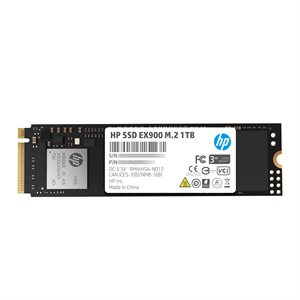 HP SSD EX900 M.2 1TB SR:2150MB/s SW:1815MB/s War-3 Years Internal NVMe PCIe M.2 2280