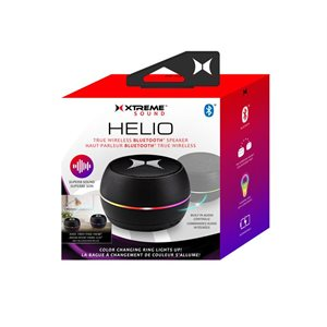 XTREME Helio True Wireless Bluetooth Speaker Black