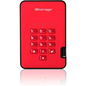 iStorage diskAshur2 SSD 256-bit 2TB - Red