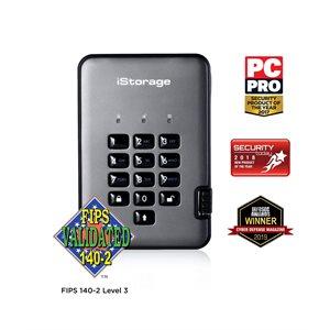 iStorage diskAshur Pro2 256-bit 3TB FIPS Certified