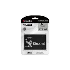 KINGSTON KC600 SSD 256GB 2.5in SATA Rev3.0(6Gb/s)