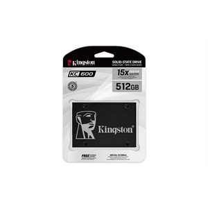 KINGSTON KC600 SSD 512GB 2.5in SATA Rev3.0(6Gb/s)