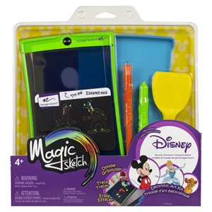 Boogie Board Magic Sketch Disney Multi Character Edition