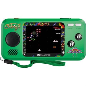 DREAMGEAR GALAGA POCKET PLAYER  - Green