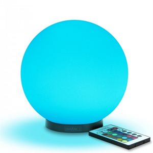 """ACCESSORY POWER ENHANCE MoodBRIGHT Mini Color Changing Children's 5.9"""" LED Mood Lamp"""
