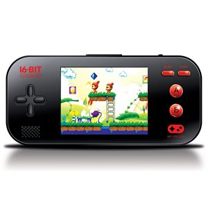 DREAMGEAR GAMER MAX PORTABLE - Black