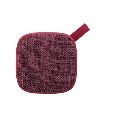 Kami – Haut-parleur Bluetooth Ebisu, rouge