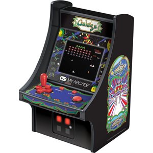 "DREAMGEAR 6.75"" COLLECTIBLE RETRO GALAGA MICRO PLAYER"