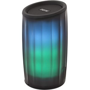 iHome iBT780 PLAYGLOW Rechargeable Color Changing Bluetooth Speaker BLK