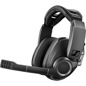 GSP 670 Wireless Gaming Headset by Sennheiser - Dark grey