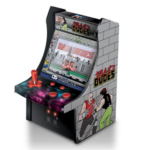 "DREAMGEAR 6.75"" COLLECTIBLE RETRO BAD DUDES MICRO PLAYER"