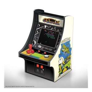 "DREAMGEAR 6.75"" COLLECTIBLE RETRO GALAXIAN MICRO PLAYER"