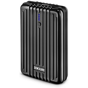 Zendure A3 PD 10,000 mAh Crush-Proof Portable Charger (Black) ENG Only PKG