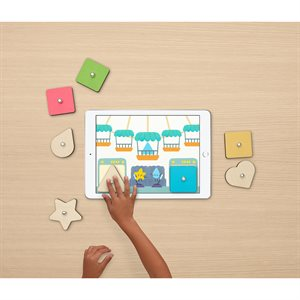 MARBOTIC SMART SHAPES INTERACTIVE WOODEN BLOCKS