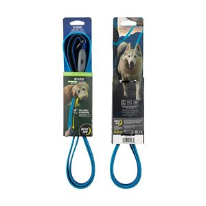 NiteIze NiteDog Rechargeable LED Leash - Blue/Blue LED