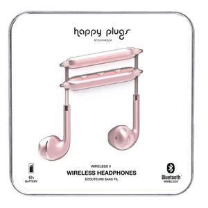 Happy Plugs Wireless II - Pink Gold Visions