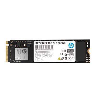 HP SSD EX900 M.2 500GB SR:2100MB/s SW:1500MB/s War-3 Years Internal NVMe PCIe M.2 2 END: 31 Jul 2021