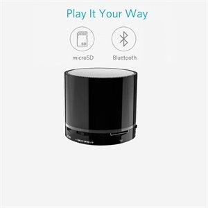 Branded Bluetooth Audio Pod Speaker Black
