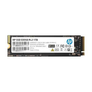 HP SSD EX950 M.2 1TB SR:3500MB/s SW:2900MB/s War-5 Years Internal NVMe PCIe M.2 228 END: 05 Dec 2020