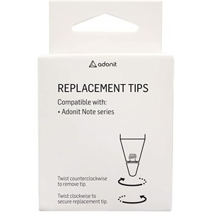 Adonit Note Replacement Tips (3 Pack)