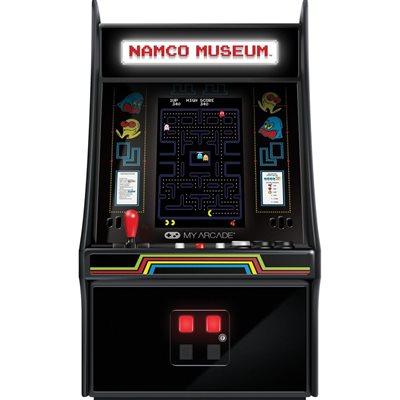 "DREAMGEAR 10"" BANDAI NAMCO MUSEUM HITS MINI PLAYER - Features 20 Bandai-Namco titles"