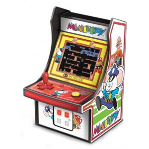 "DreamGear 6.75"" COLLECTIBLE RETRO MAPPY MICRO PLAYER"