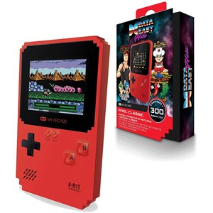 DREAMGEAR PIXEL CLASSIC - Packed with 300 games built-in + 8 classic, memorable Data East titles