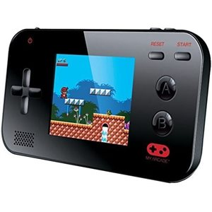 MY ARCADE GAMER V PORTABLE - Packed with 220 built-in games (8-Bit).-BLACK