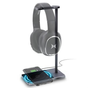 Xtreme 10W Headphone Stand with Wireless Charging